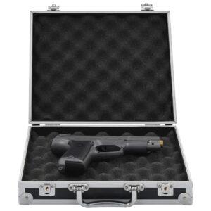 Waffenkoffer Aluminium ABS Schwarz