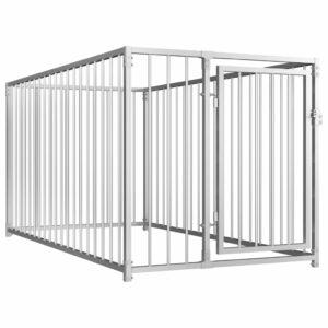 Outdoor-Hundezwinger 100×200×100 cm