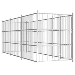 Outdoor-Hundezwinger 450×150×185 cm