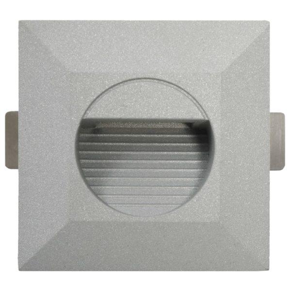 Außenwandleuchten 6 Stk. LED 5 W Silbern Quadratisch