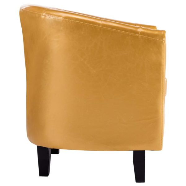 Sessel Golden Kunstleder