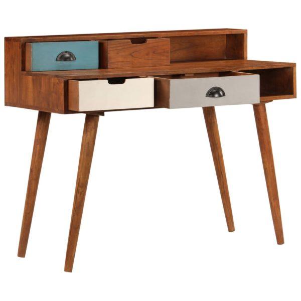 Schreibtisch 110 x 50 x 90 cm Akazienholz Massiv