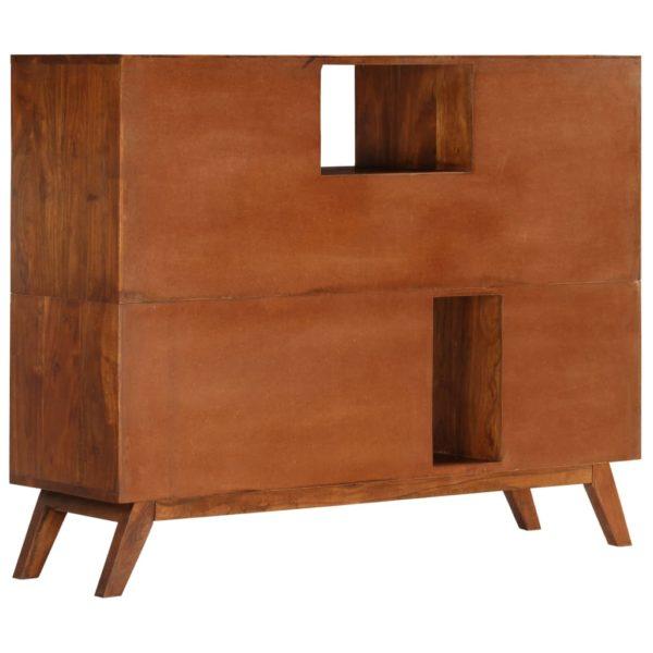Sideboard 115 x 35 x 86 cm Akazienholz Massiv