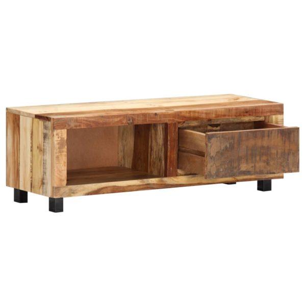 TV-Schrank 100 x 30 x 33 cm Recyceltes Massivholz