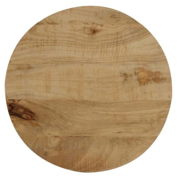 Beistelltisch Mango Massivholz 40×50 cm