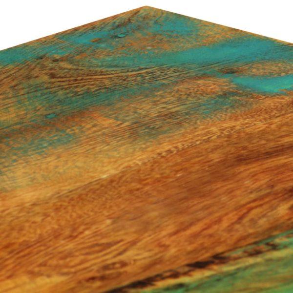 Couchtisch 100 x 60 x 35 cm Recyceltes Massivholz