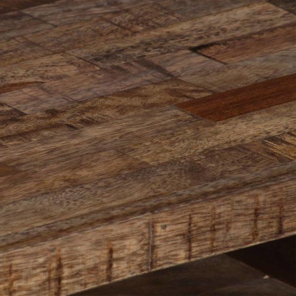 TV-Schrank 118×30×40 cm Massivholz Mango