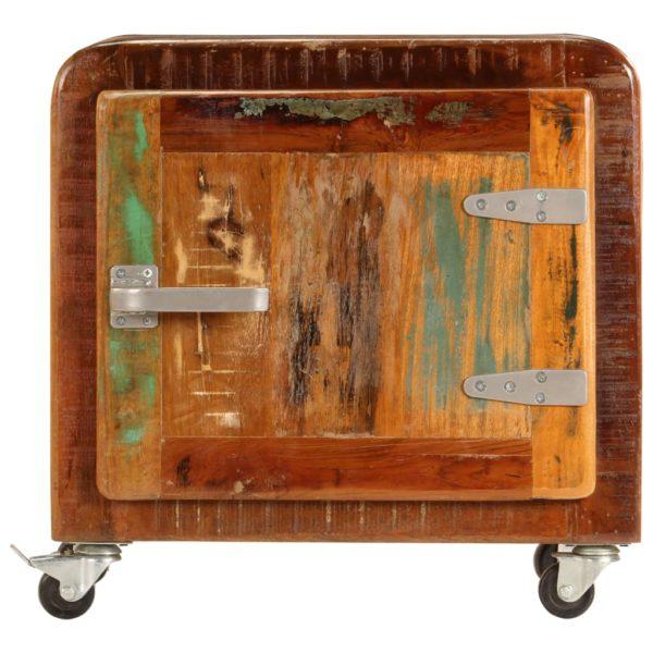 Nachttisch 50 x 30 x 50 cm Recyceltes Massivholz