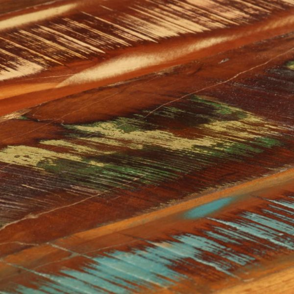 Couchtisch 85 x 55 x 40 cm Recyceltes Massivholz