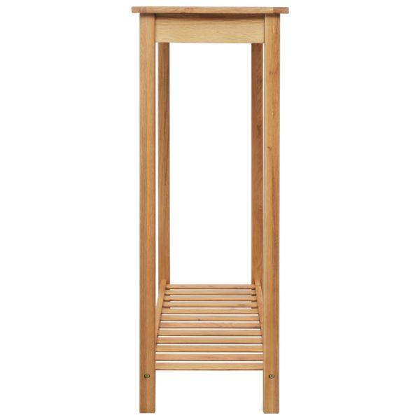Bartisch 100 x 40 x 110 cm Massivholz Eiche