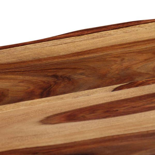 Esstisch 180 x 90 x 76 cm Massivholz