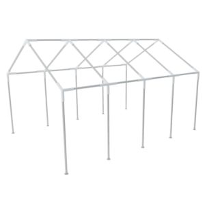 Pavillon Stahlgestell Partyzeltrahmen Zeltrahmen Gestell 8 x 4 m