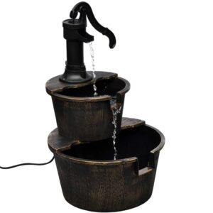 Kaskadenbrunnen Handwasserpumpe-Design