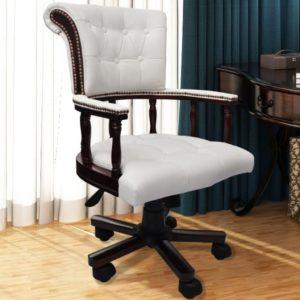 Drehstuhl Bürostuhl Ledermix