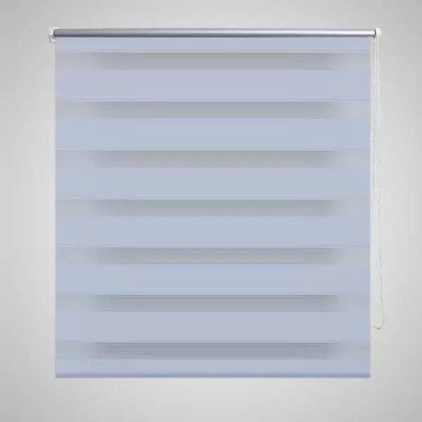 Doppelrollo 120 x 175 cm weiß