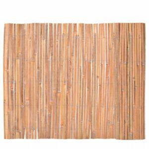 Bambuszaun 100×400 cm