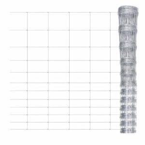 Gartenzaun Verzinkter Stahl 50 m 150 cm