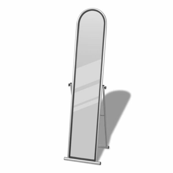 Standspiegel Ankleidespiegel Ganzkörperspiegel grau