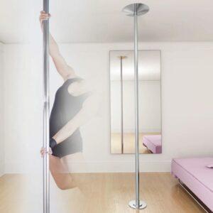Hochwertige Tanzstange Pole Dance 45mm verstellbare Höhe 224 – 275 cm
