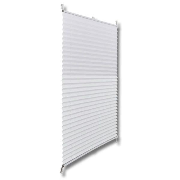 Plissee Faltrollo Rollo Plisseerollo 50x100cm Weiß
