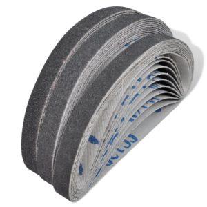 Schleifbänder für Druckluft Bandschleifer 30 Stk. 10×330 mm