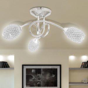 Beleuchtung Decken Leuchte Lampe Deckenlampe 3 x G9