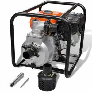 Benzin-Wasserpumpe 50 mm Schlauchanschluss 5,5 PS