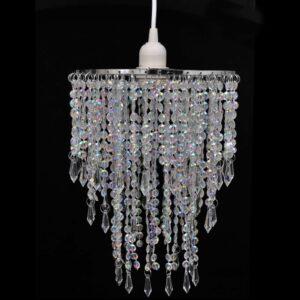 Kristall Anhänger Kronlampe 22,5 x 30,5 cm