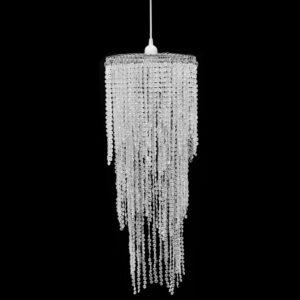 Kristall Anhänger Kronlampe 26 x 70 cm