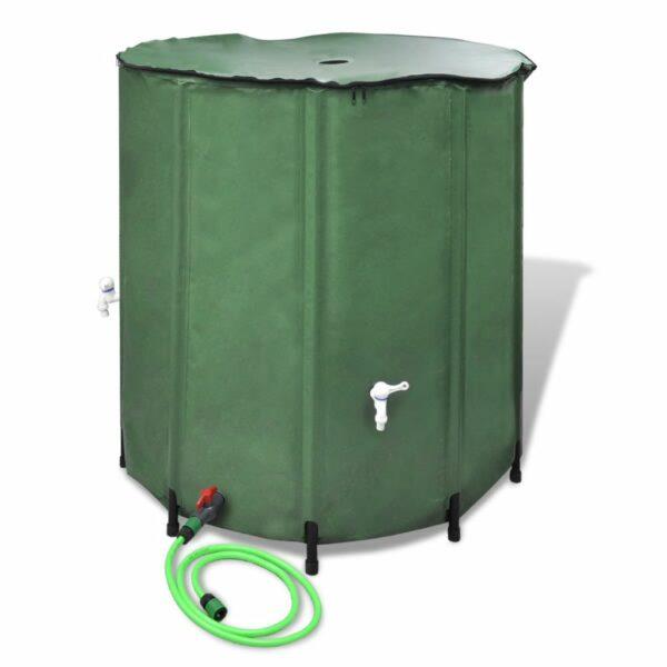 Wasserspeicher Regentonne Wassertank 500L klappbar