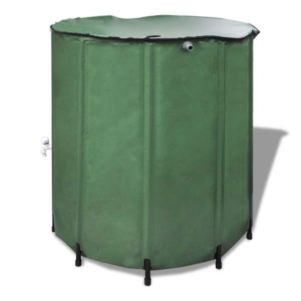 Wasserspeicher Regentonne Wassertank 250L klappbar