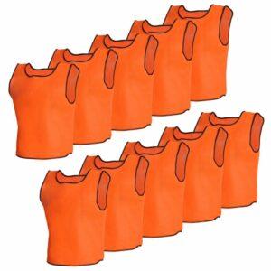 Orange Sportsshirts Sportweste für Erwachsene 10 Stück