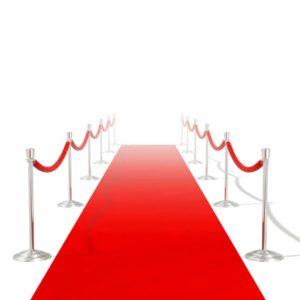 Roter Teppich 1 x 10 m Extra Schwer 400 g/m²