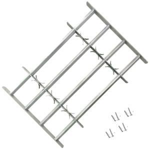 Fenstergitter Verstellbar mit 4 Querstäben 500-650 mm