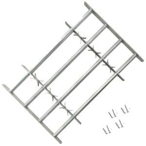 Fenstergitter Verstellbar mit 4 Querstäben 1000-1500 mm