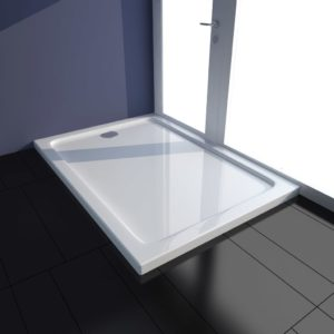 Duschtasse ABS Rechteckig Weiß 70×100 cm