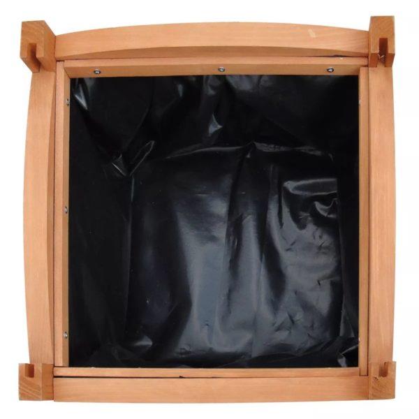 Holz-Hochbeet 30x30x30 cm 2 Stk.