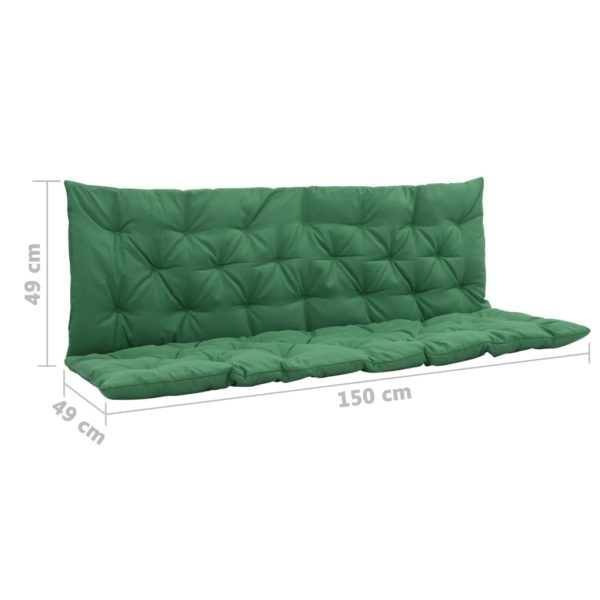 Grünes Schaukelstuhl-Sitzkissen 150 cm