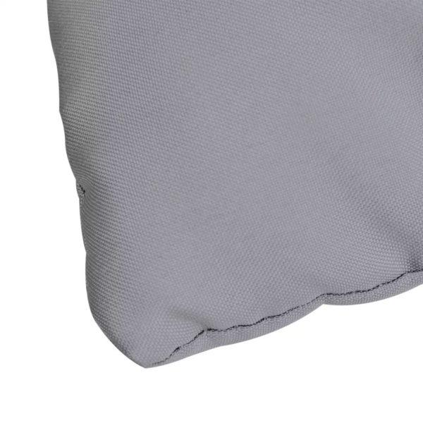 Graues Kissen für Schaukelstuhl 120 cm