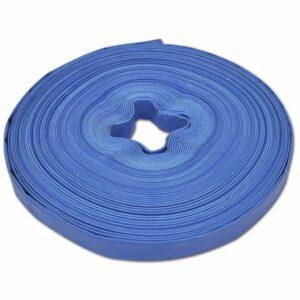 Wasser-Flachschlauch 50 m 1 Zoll PVC