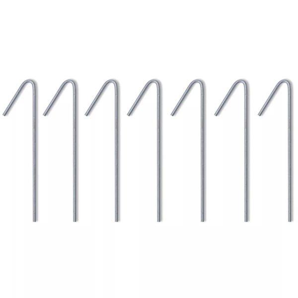 Faltzelt mit 4 Wänden 3 x 3 m Cremeweiß