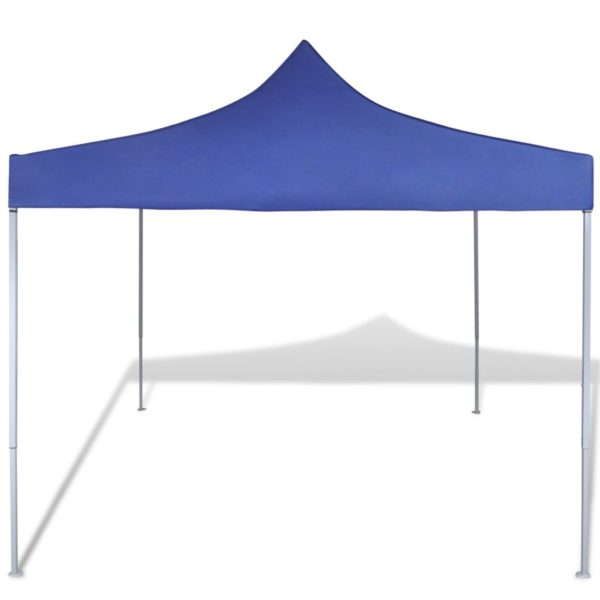 Faltzelt 3 x 3 m Blau