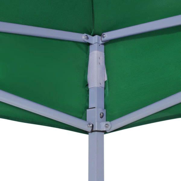 Faltzelt 3 x 3 m Grün