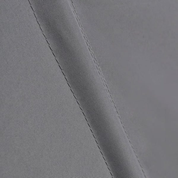 Faltbarer Balkonfächer Grau 160×240 cm
