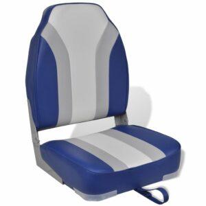 Klappbarer Bootssitz mit hoher Rückenlehne