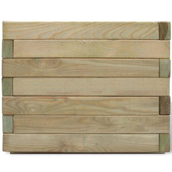 Hochbeet 50 x 50 x 40 cm Holz Quadratisch