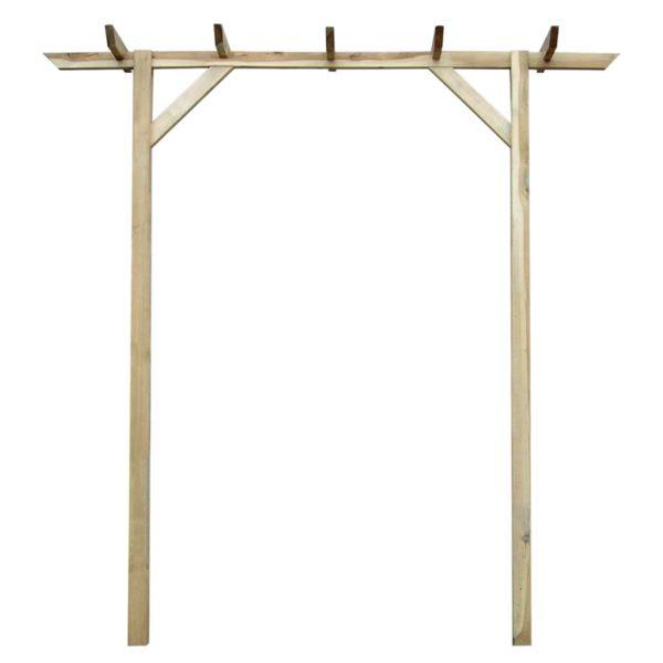 Rosenbogen 200 x 40 x 205 cm Holz