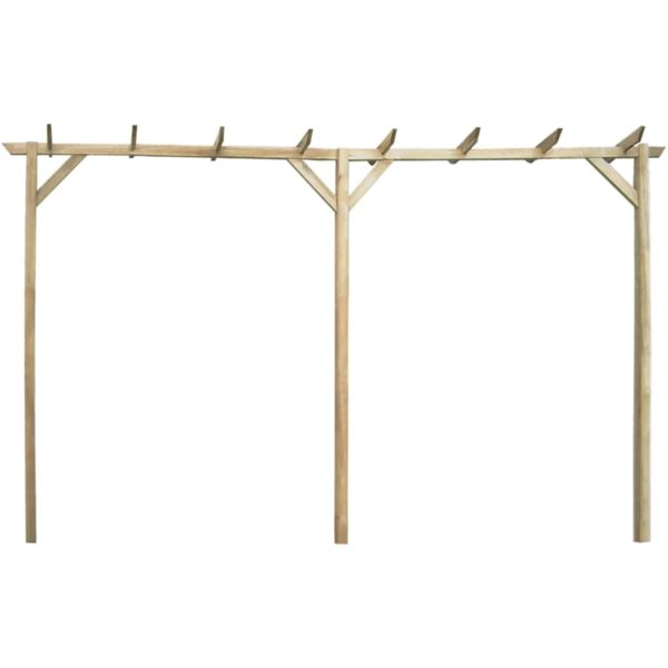 Rosenbogen 400 x 40 x 205 cm Holz