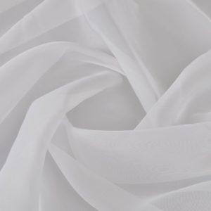 Voile-Stoff 1,45 x 20 m Weiß