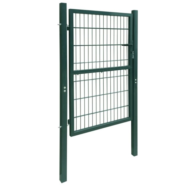 2D Zauntor (Einzeltor) grün 106 x 210 cm